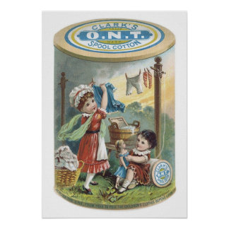 Coton de bobine de Clarks Ontario Poster