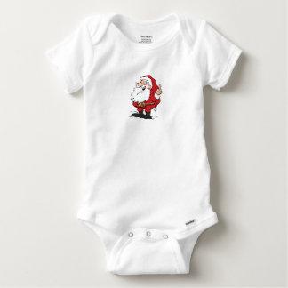 Coton de gerber de bébé de Père Noël T-shirts