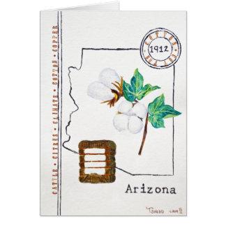 Coton de l'Arizona Cartes De Vœux