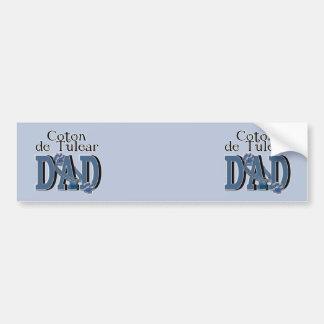 Coton de Tulear DAD Autocollant Pour Voiture