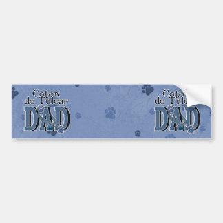 Coton de Tulear DAD Adhésif Pour Voiture