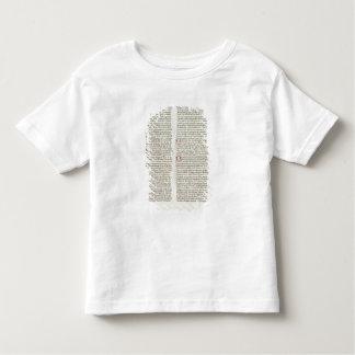 Cott Nero D II f.114 Adrian IV T-shirt Pour Les Tous Petits