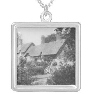 Cottage d'Anne Hathaway Pendentif Carré