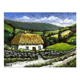 Cottage de chèvrefeuille carte postale