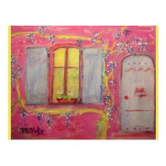 cottage de glycines cartes postales
