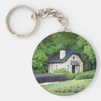 Cottage de pays porte-clé rond