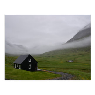 Cottage islandais cartes postales