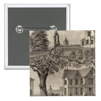 Cottages de carte de travail Hamilton, lac spring, Badge