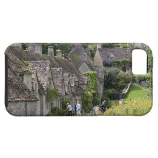 Cottages en pierre de Cotswold dans le village de Coques iPhone 5