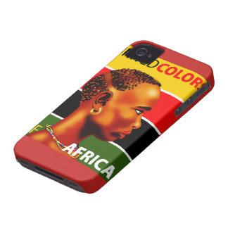 Couche Cellulaire iPhone 4 Afrique Coques iPhone 4 Case-Mate