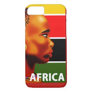 Couche Cellulaire iPhone 7 Afrique Coque iPhone 7