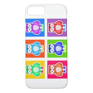 Couche Cellulaire iPhone 7 Hiboux Coque iPhone 7