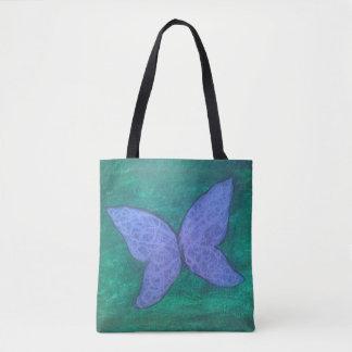 Couche-culotte verte pourpre de bébé de papillon sac