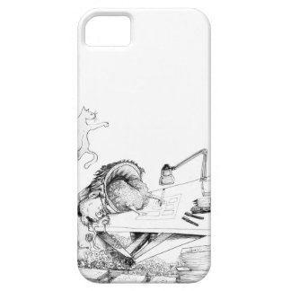 Couche de Cellulaire Limbe dans des requadros iPhone 5 Case