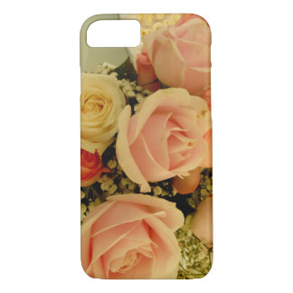 Couche iPhone 7 style floral roses Coque iPhone 7