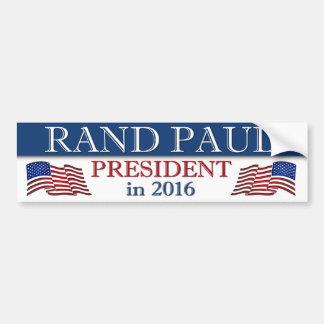 Couche-point Paul 2016 patriote Autocollant De Voiture