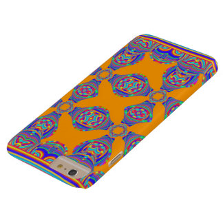 Couche pour cellulaire Orange Coque Barely There iPhone 6 Plus