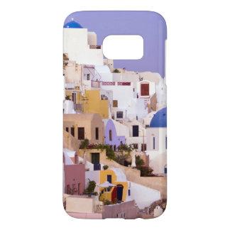 Coucher du soleil à l'huile, Santorini 2 Coque Samsung Galaxy S7