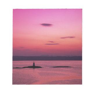 Coucher du soleil au-dessus d'île de Skye, de Mall Blocs Notes