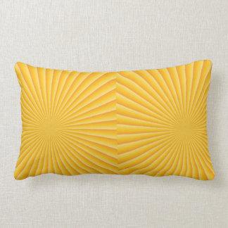 Coucher du soleil bonjour coussin rectangle