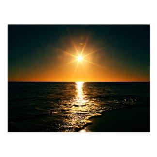 Coucher du soleil cartes postales