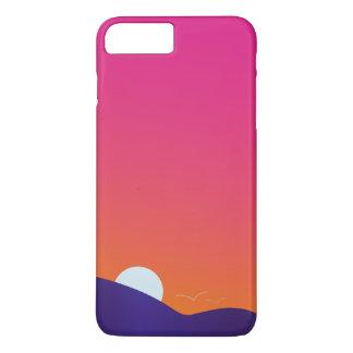 coucher du soleil coque iPhone 7 plus