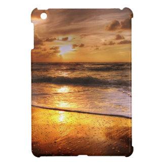 Coucher du soleil coque pour iPad mini