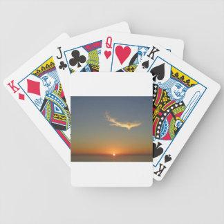 coucher du soleil d'ange jeu de poker
