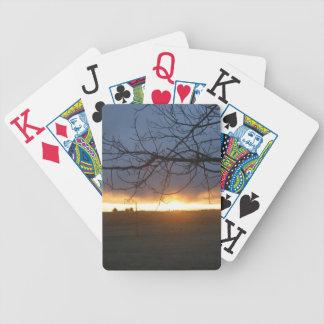 Coucher du soleil d'avril le Colorado Jeux De Poker