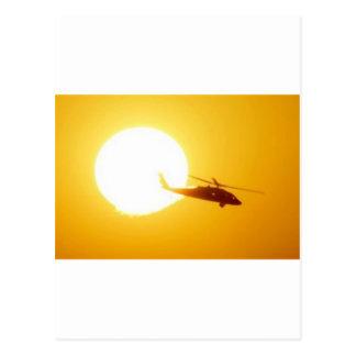 COUCHER DU SOLEIL DE BLACKHAWK CARTE POSTALE