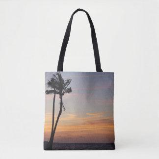 Coucher du soleil de Key West de sac fourre-tout