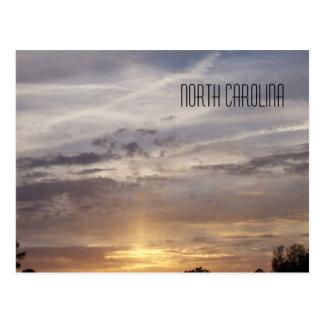 Coucher du soleil de la Caroline du Nord Cartes Postales