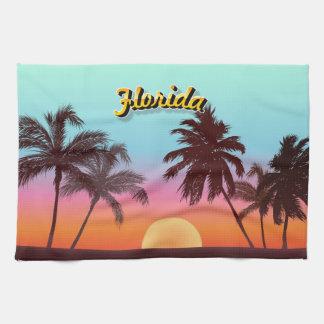 Coucher du soleil de la Floride Serviette Pour Les Mains
