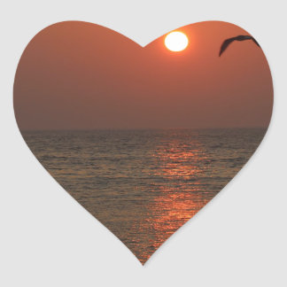 Coucher du soleil de la Sardaigne Adhésifs