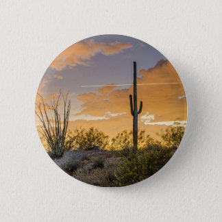 Coucher du soleil de l'Arizona Badges