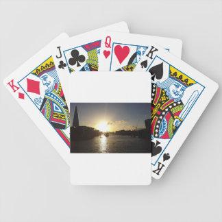 Coucher du soleil de Londres Jeu De Poker