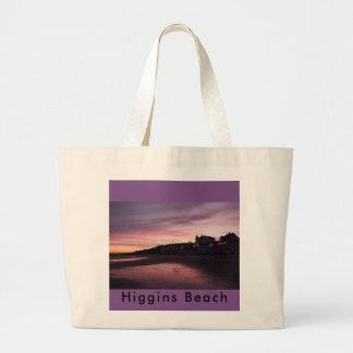 Coucher du soleil de plage de Higgins Grand Sac