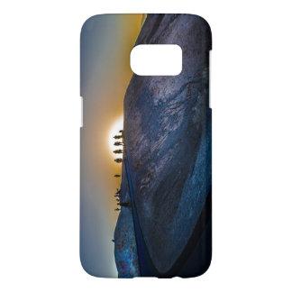 Coucher du soleil de point de zabriskie de Death Coque Samsung Galaxy S7