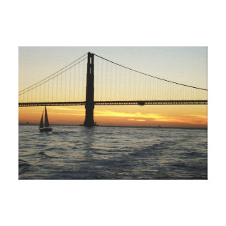 Coucher du soleil de San Francisco Toiles