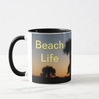 Coucher du soleil d'île d'Anna Marie - la vie de Mug