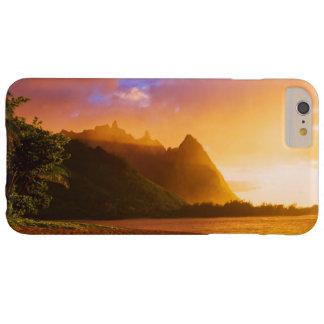 Coucher du soleil d'or de plage, Hawaï Coque iPhone 6 Plus Barely There