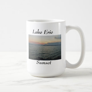 Coucher du soleil du lac Érié Mug