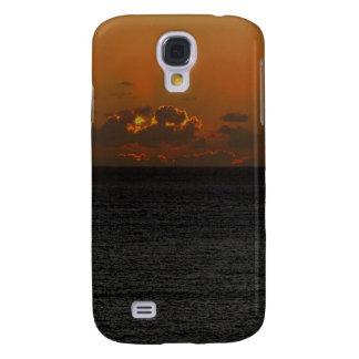 Coucher du soleil du sud .2. de roche de Devon Coque Galaxy S4