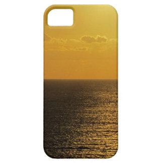 Coucher du soleil du sud .4. d'Autunm de roche de iPhone 5 Case