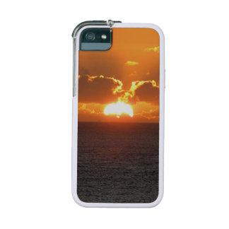 Coucher du soleil du sud d'automne de roche de Dev Coque iPhone 5