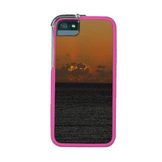 Coucher du soleil du sud d'automne de roche de étuis pour iPhone  5/5S