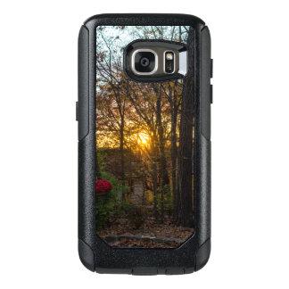 Coucher du soleil en bois de Sdc Coque OtterBox Samsung Galaxy S7