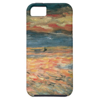 Coucher du soleil en mer par Pierre Renoir, Coques iPhone 5 Case-Mate
