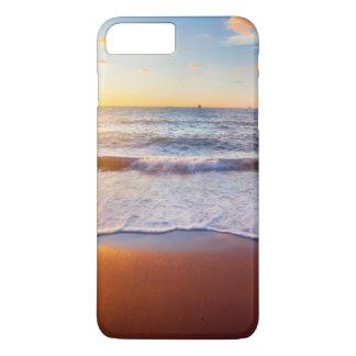 Coucher du soleil et plage coque iPhone 7 plus