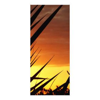 Coucher du soleil invitations personnalisées